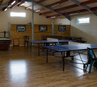 salle d'activités au camping à Notre dame de Monts en Vendée