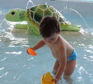Pataugeoire du camping Notre dame de Monts avec piscine