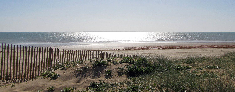 vue de la plage près du camping à Notre de Monts - Le clos du bourg