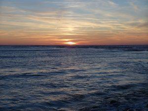 vue de la mer en Vendée à Bretignolles sur Mer